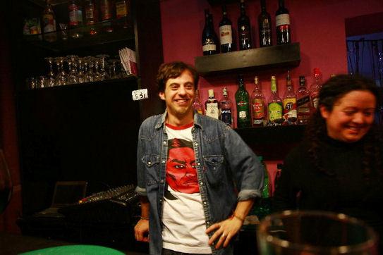 Massimo Capaccio ne El Circulo Bar, Lima