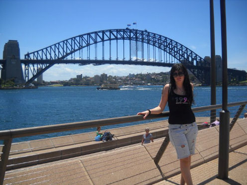 Nadia Nonnis a Sydney