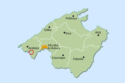 Peguera dove si trova Palma di Maiorca
