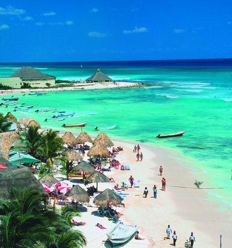 Spiagge a Playa del Carmen sogni nel cassetto