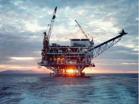 Lavorare sulle piattaforme petrolifere