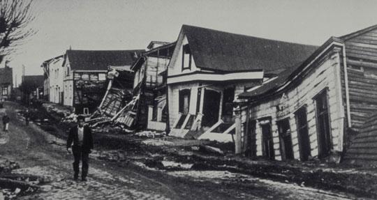 Terremoti in Cile santiago del cile
