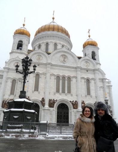 Pippo Todisco a Mosca