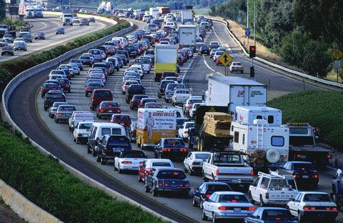traffico nelle strade tempi lavoro