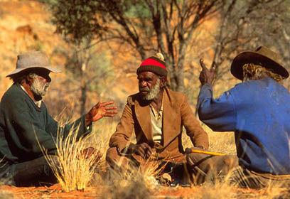 Aborigeni australiani mollo tutto e vado in australia