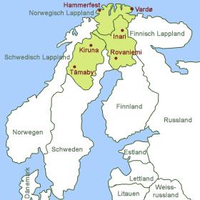 Mappa Lapponia