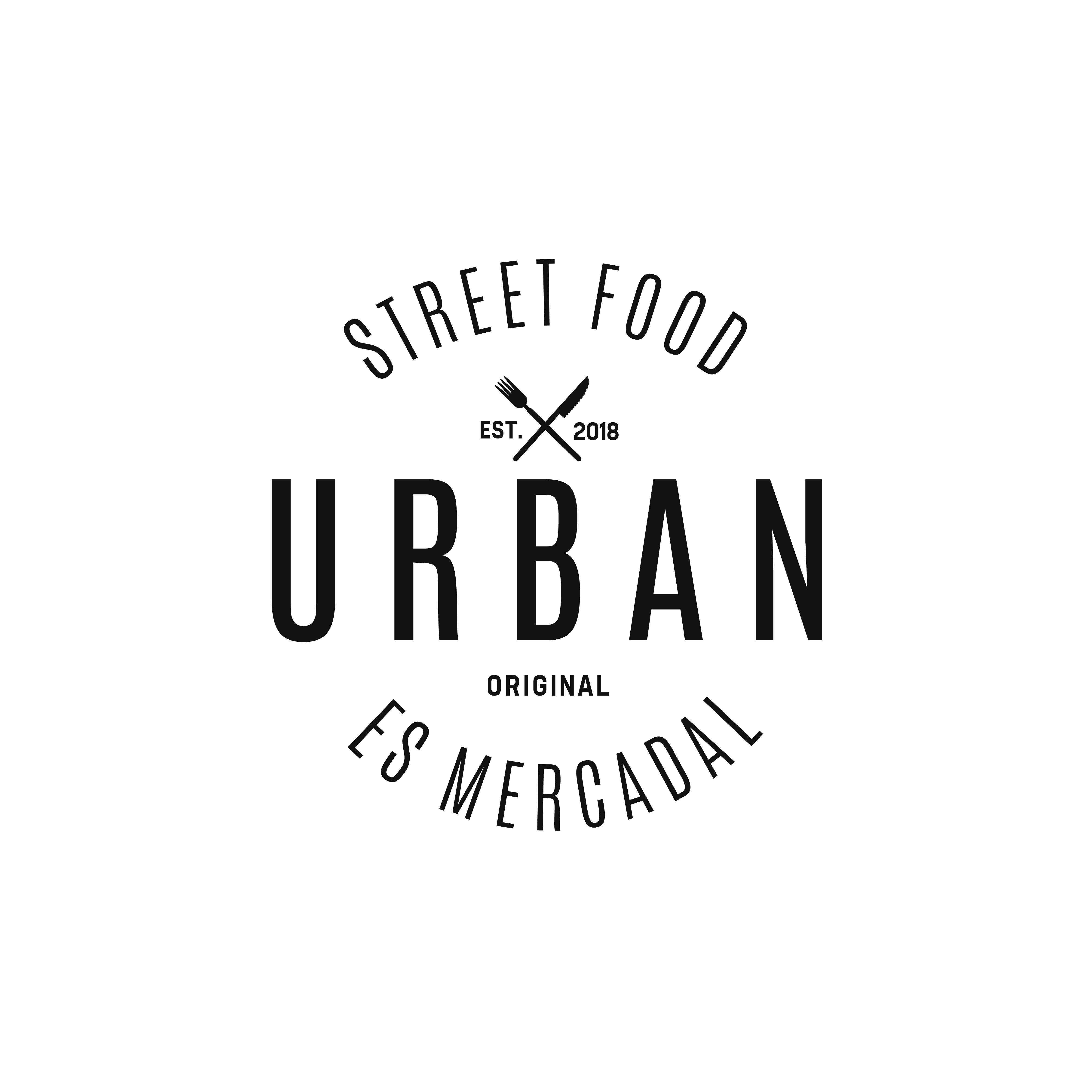 urban street food logo
