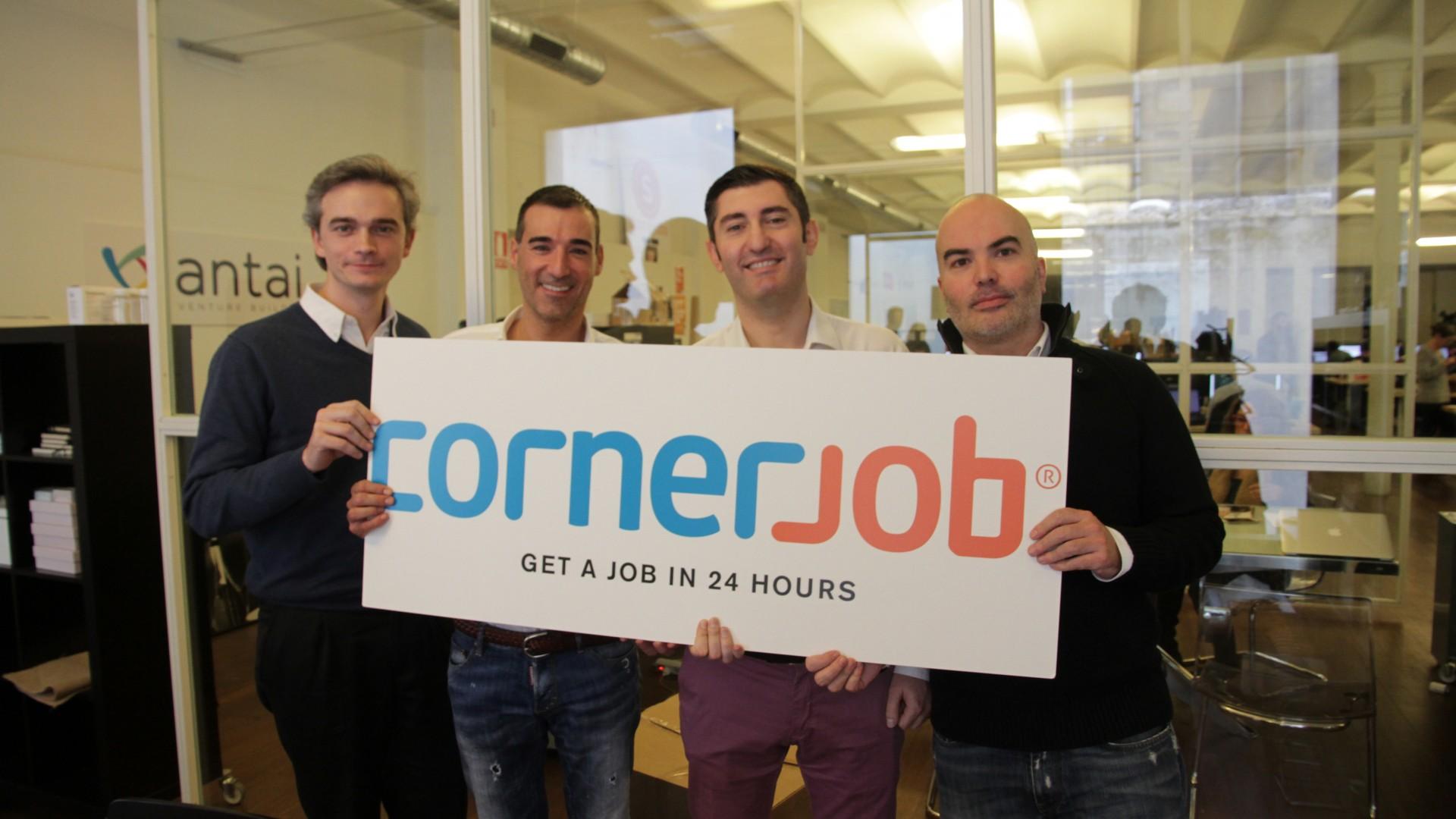 Cornerjob applicazione lavoro