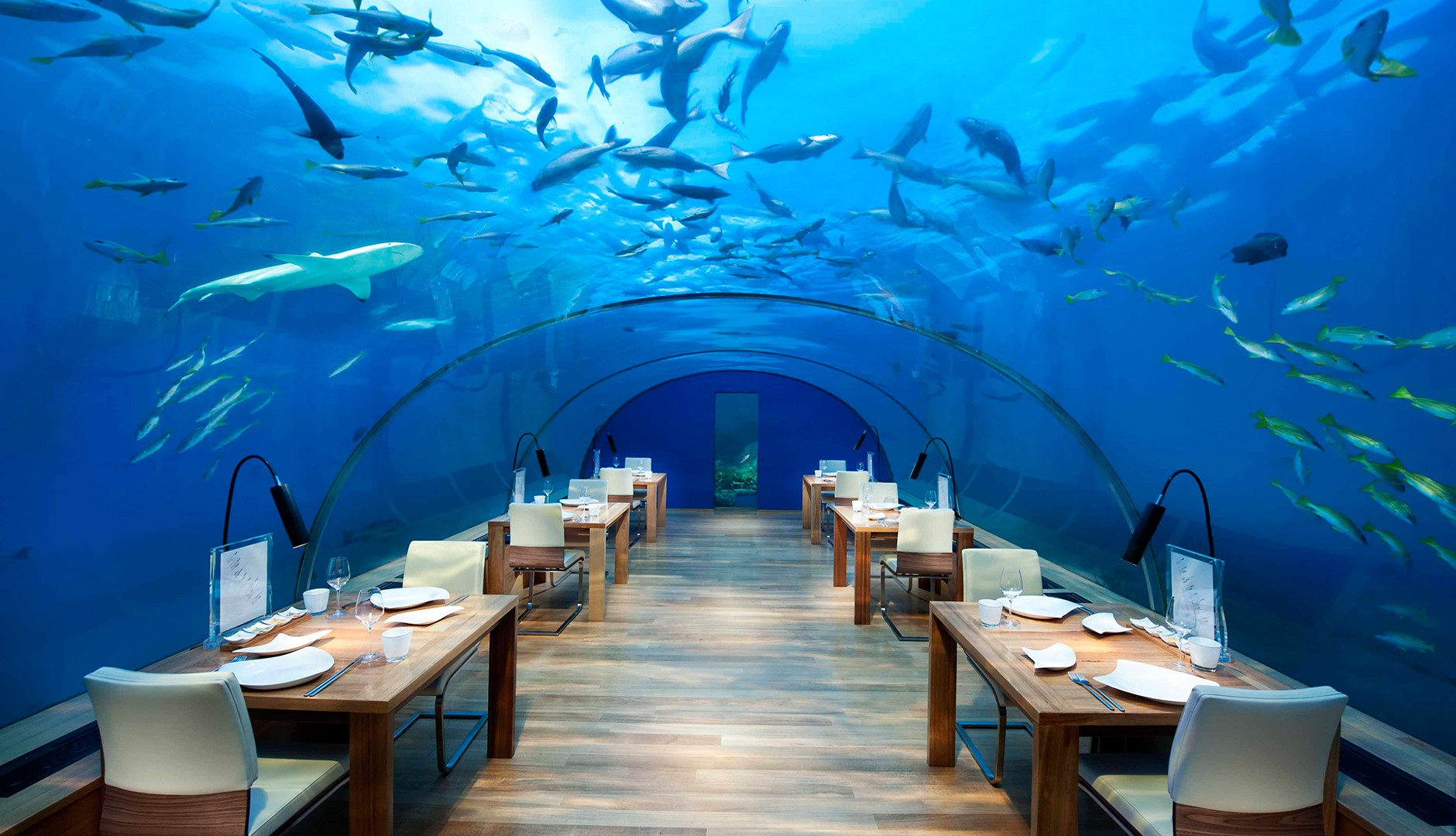 ristorante sottomarino maldive