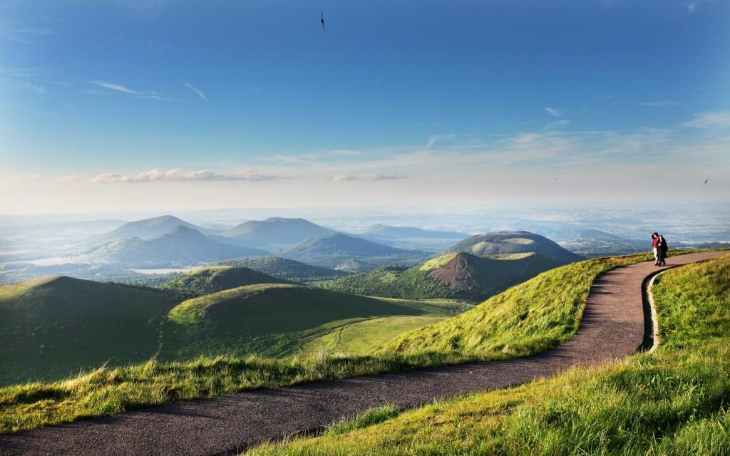 Francia I Vulcani Di Auvergne Alvernia