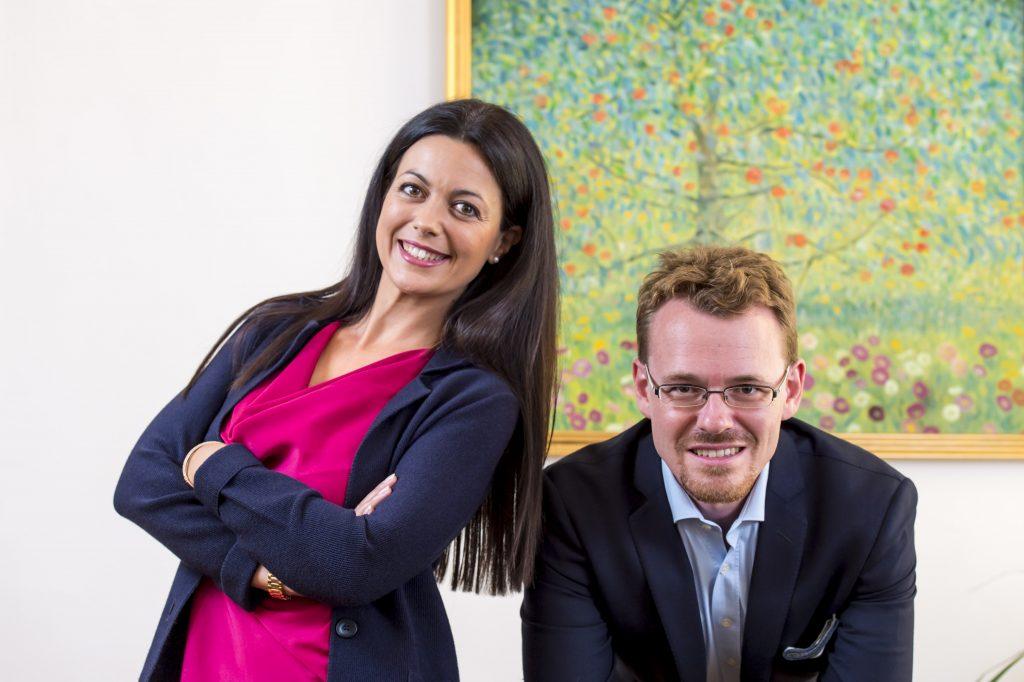 Noemi Cesarano e suo marito Daniel Czap