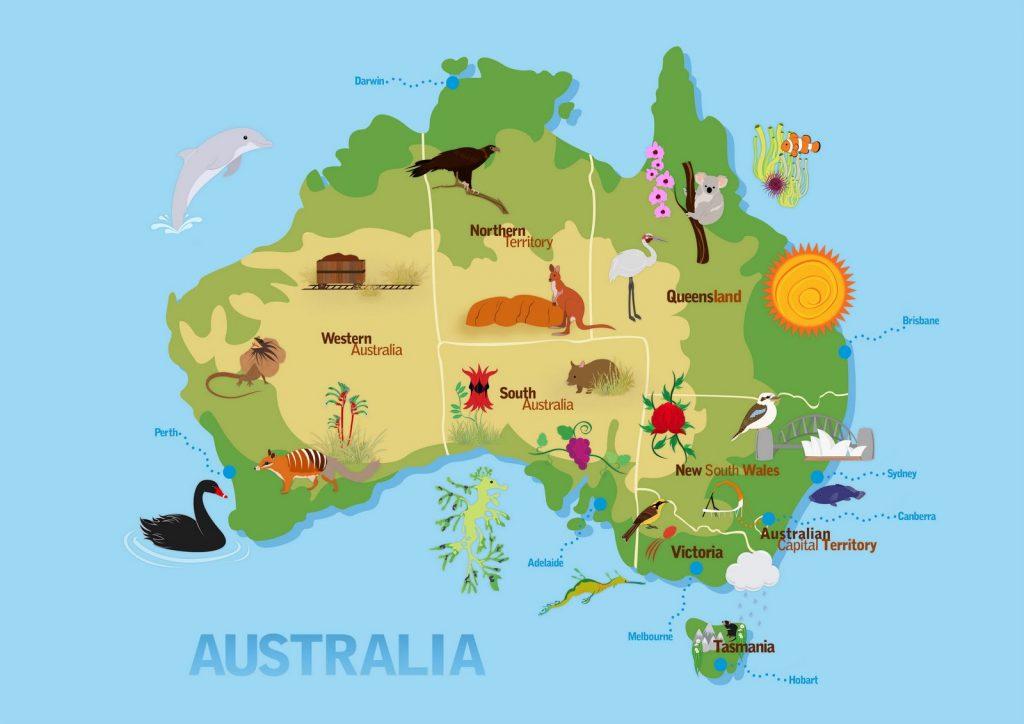 geografia australiana antonino loggia