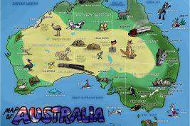 geografia australiana