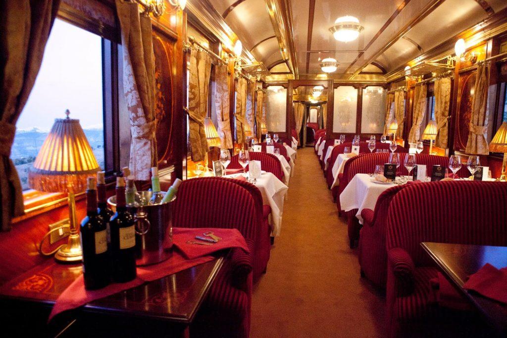 viaggio in treni di lusso