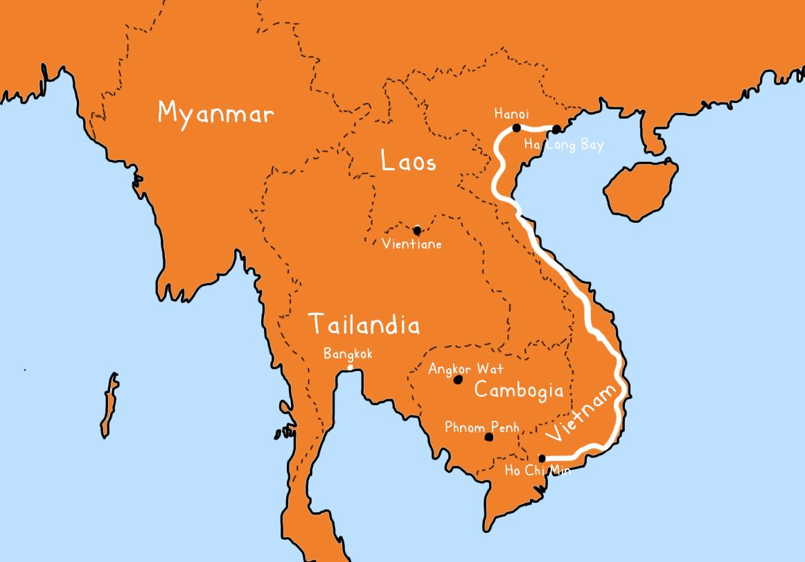 vietnam in motorino