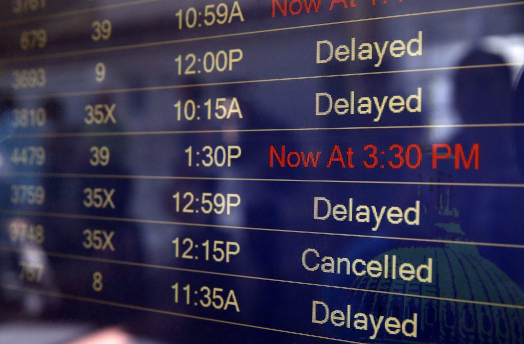 cancellazione volo aereo