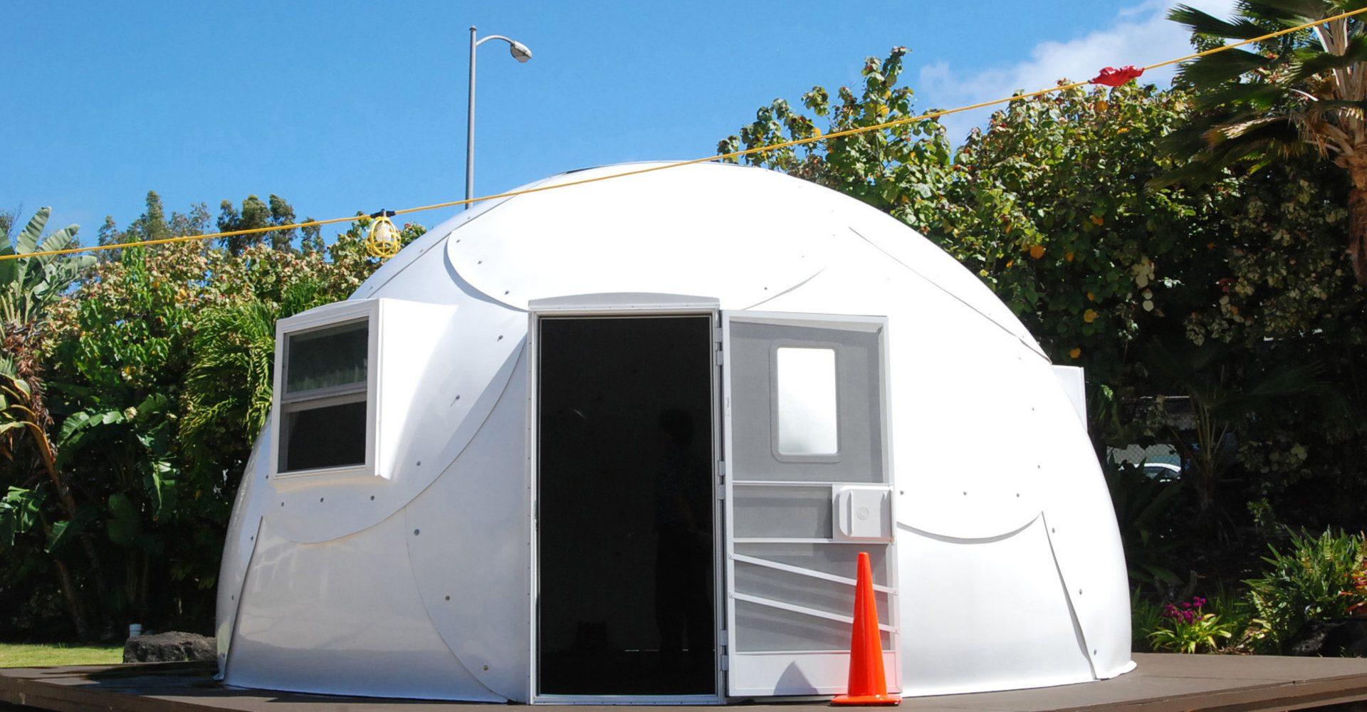 Hawaii Homeless Igloos
