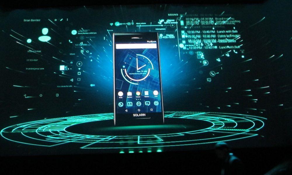 smartphone solarin