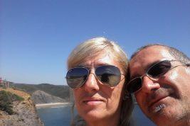 Barbara e Fabio portogallo
