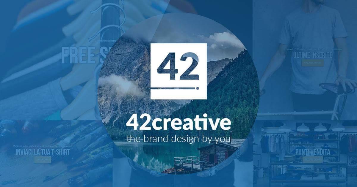 42 Creative t shirt personalizzate