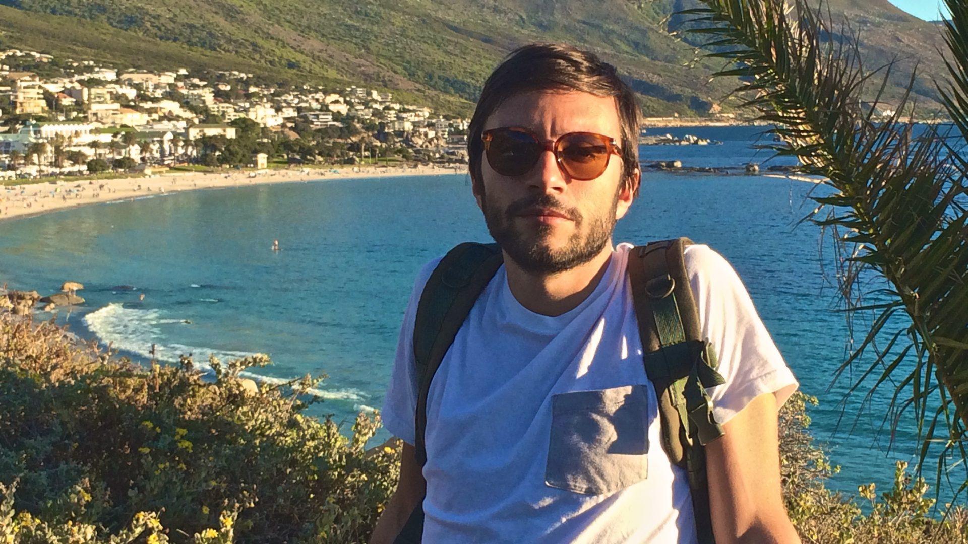 Con Cape Town è stato amore a prima vista», Riccardo