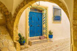 In pensione in Tunisia