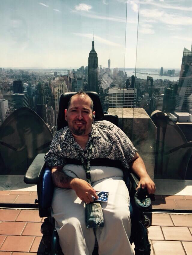 """Lukas e il suo Blog """"Un disabile a New York"""" intervistato da Nicole Cascione"""
