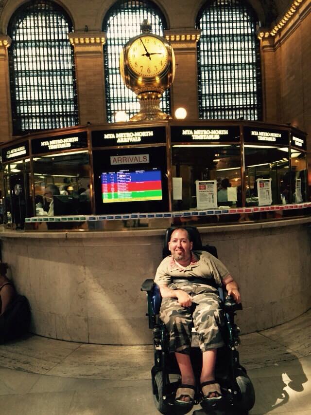 un disabile a new york