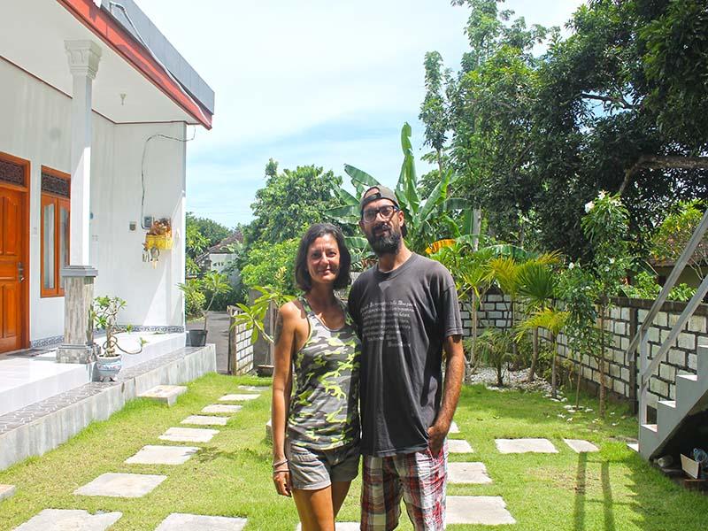 B&B a Bali, la storia di Mariangela e Ignazio