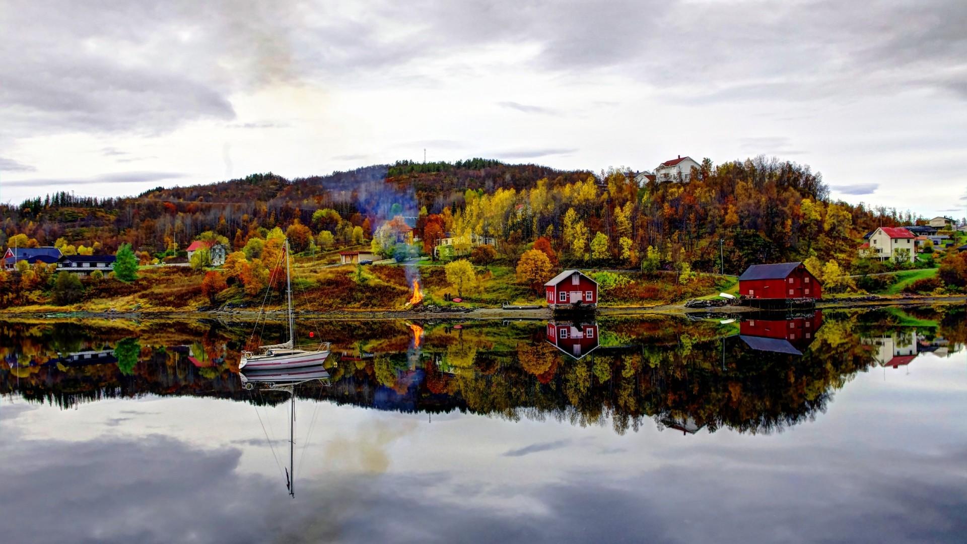 una nuova vita in norvegia