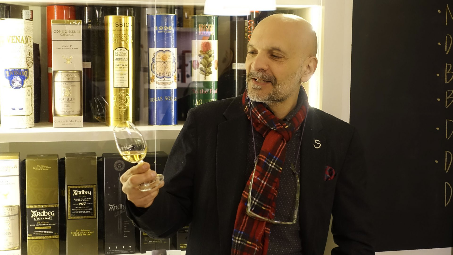 Pino Perrone Spirit of Scotland Rome Whisky Festival