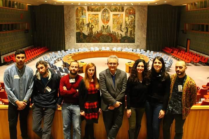 Visita all'ONU NY
