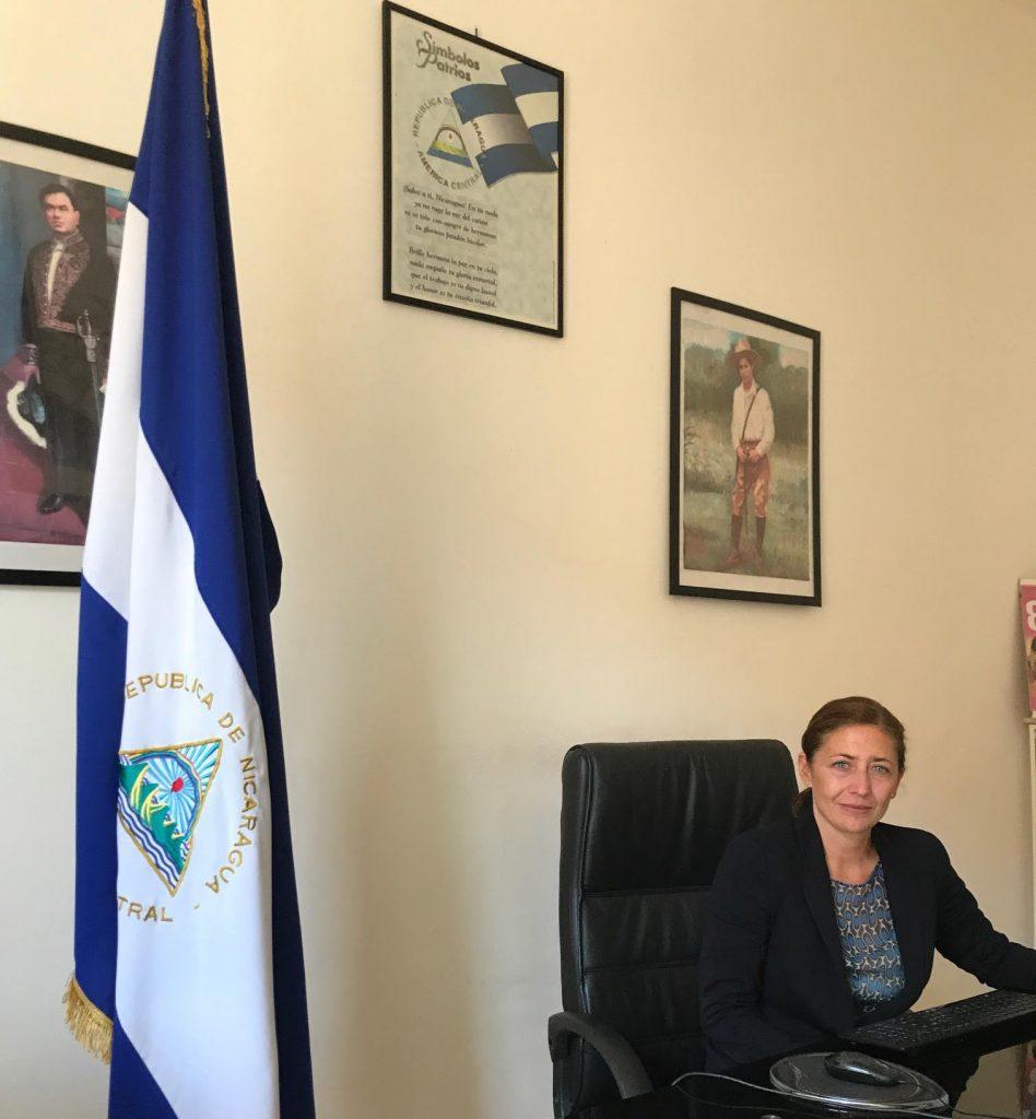 Ambasciatrice Monica Robelo Raffone