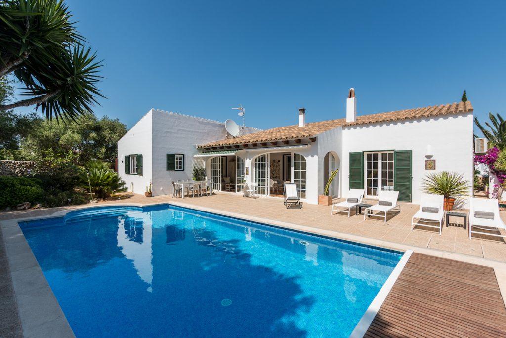 Casa Bonita Menorca swimming pool