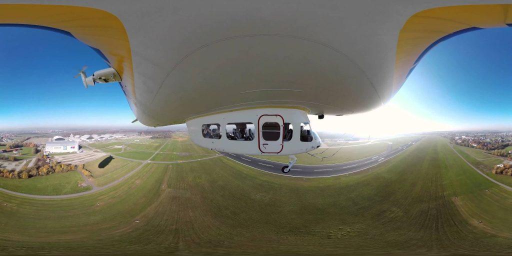 viaggiare in dirigibile