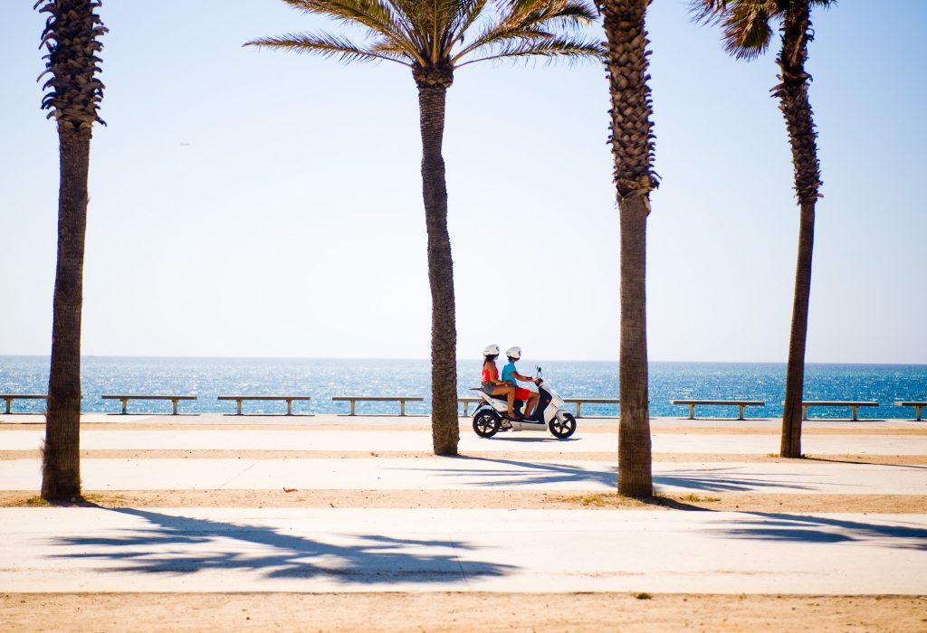 Vacanze in scooter a Formentera