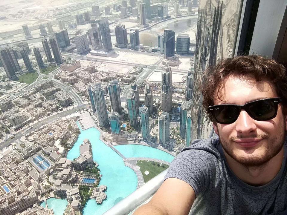 Dubai - Vista dal grattacielo più alto del mondo