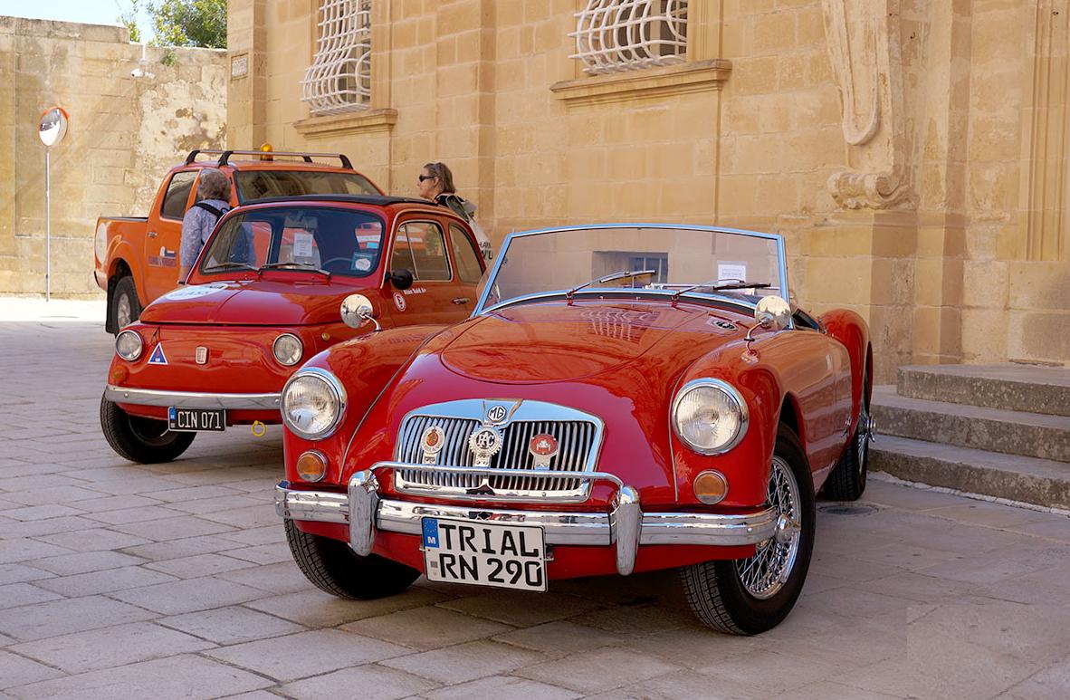 Malta e il bellissimo raduno di auto d epoca a mdina for Piani di fattoria d epoca