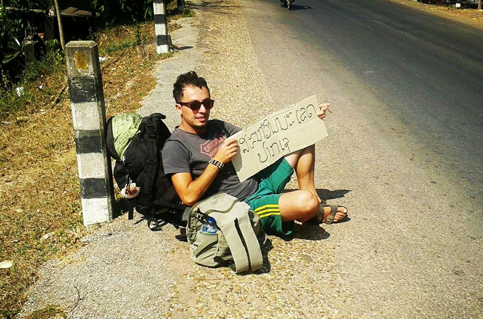 nicola regina volontario in cambogia