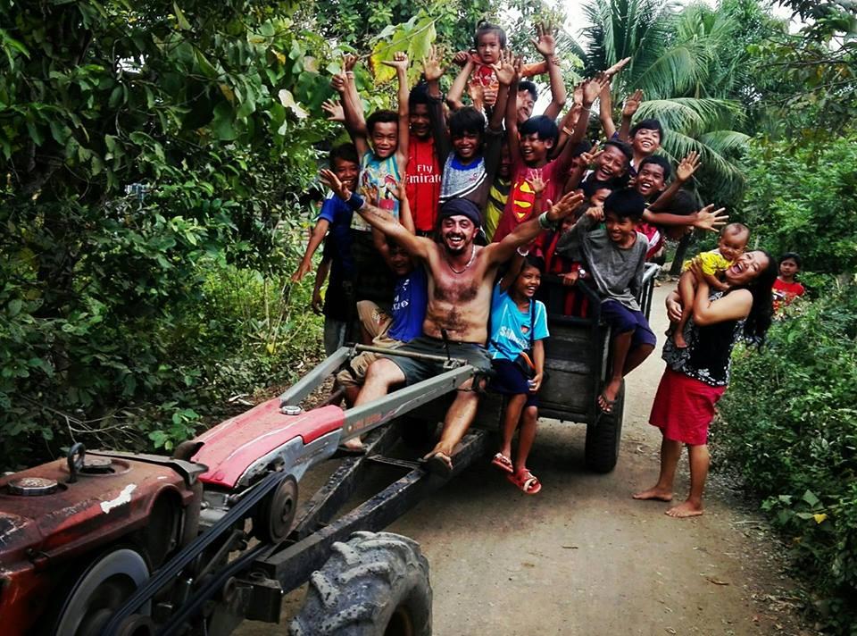 Volontariato un Cambogia