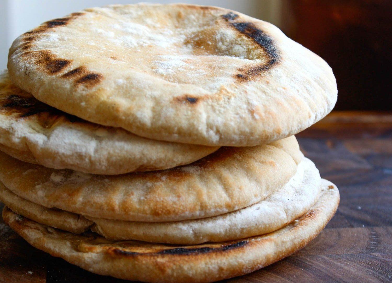 ricetta pane pita grecia (ricette dal mondo)
