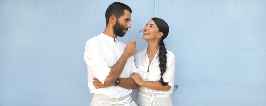 Rosa Stuppiello e Andrea Pomelli