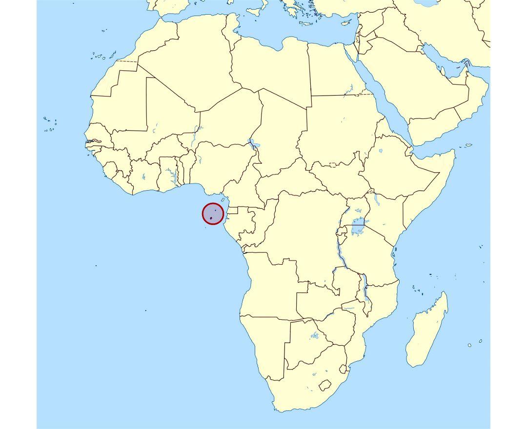 Scoprire Sao Tomé e Principe