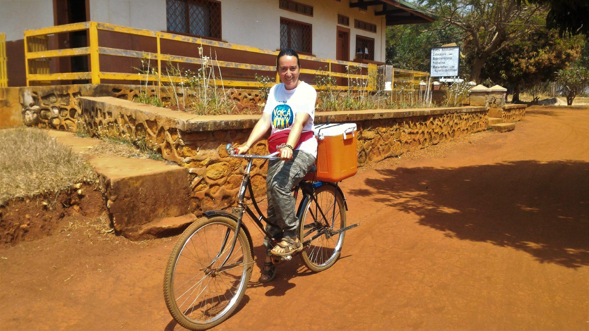 Roberta Grieco e la sua esperienza nel volontariato in Congo