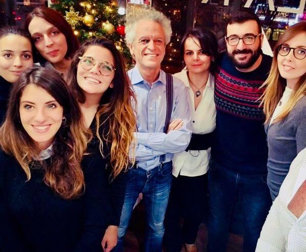 I ragazzi di Learn Italy USA con Federico Rampini