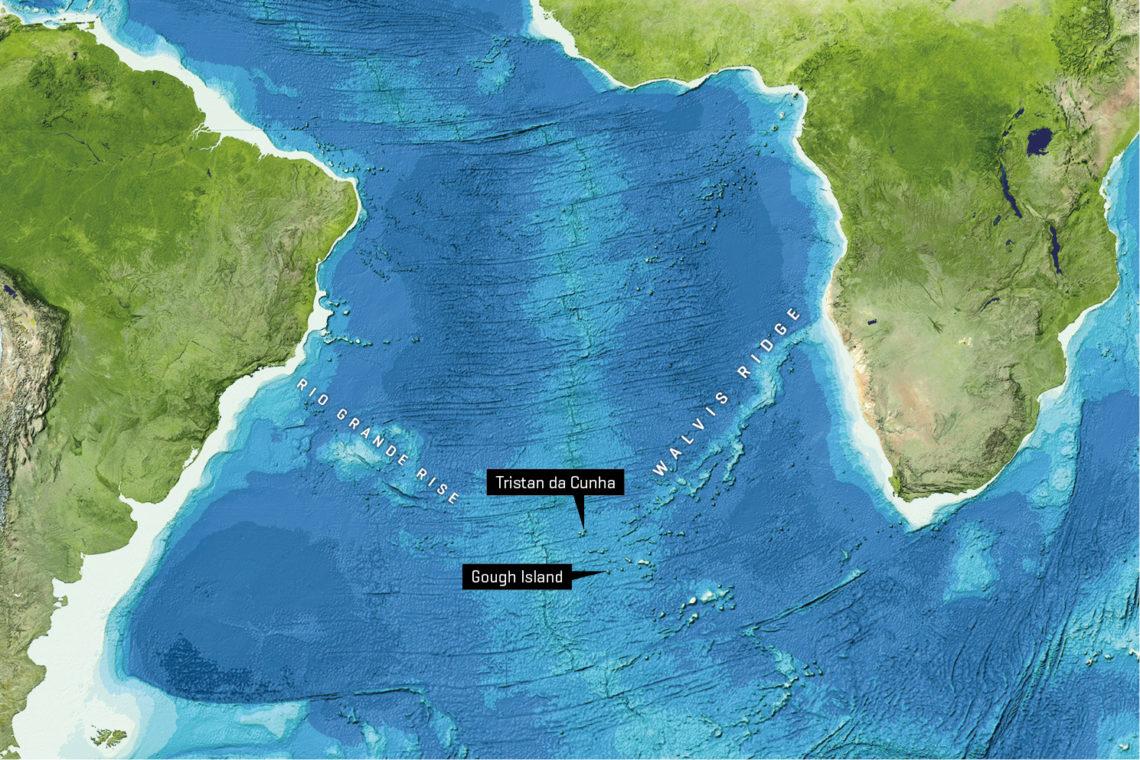 dove si trova Tristan da Cunha