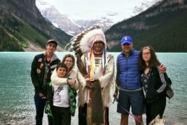 la storia di Catia (ora a Calgary in Canada