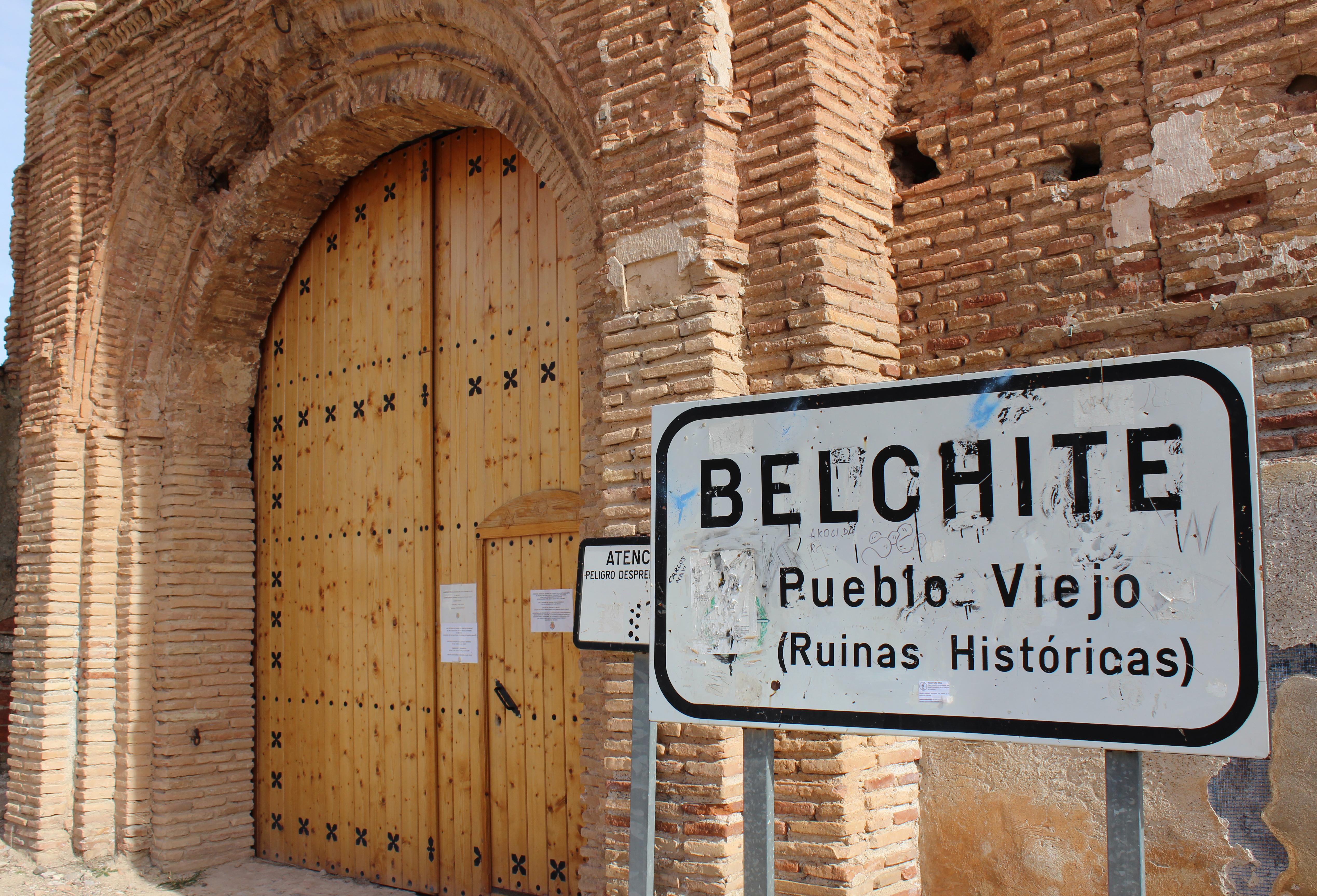 BELCHITE, SPAGNA