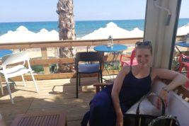 Carolina e la sua nuova vita a Creta
