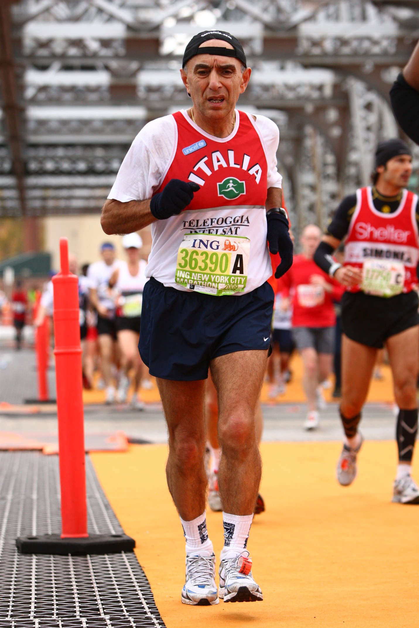 felice infante maratoneta